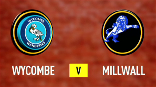 Wycombe 1-0 Millwall