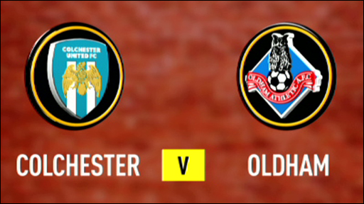 Colchester 1-0 Oldham