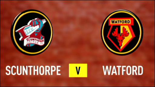 Scunthorpe v Watford