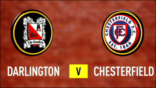 Darlington 2-3 Chesterfield