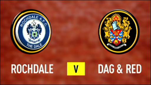 Rochdale 3-1 Dagenham