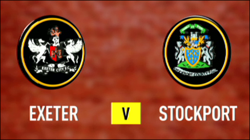 Exeter 0-1 Stockport