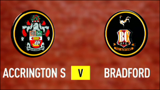 Accrington 2-0 Bradford