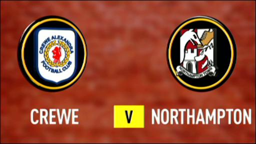 Crewe 3-2 Northampton