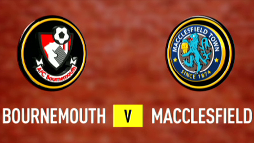 Bournemouth 1-1 Macclesfield