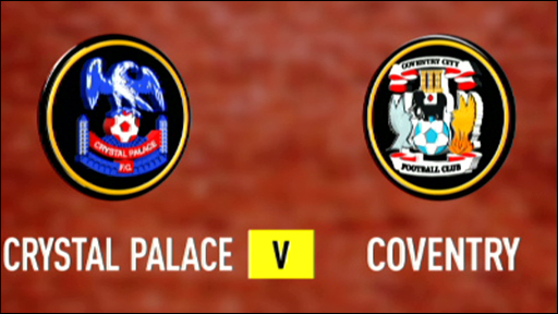 Crystal Palace 0-1 Coventry