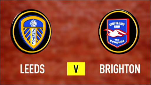 Leeds 1-1 Brighton