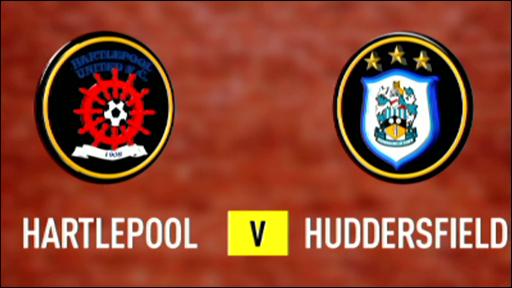 Hartlepool 0-2 Huddersfield