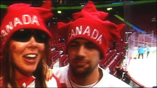 A Canadian fan