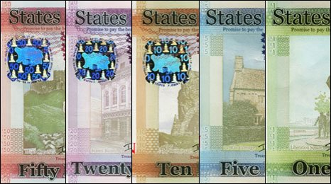 Jersey bank notes