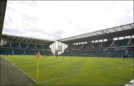 Hibs' Easter Road stadium