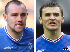 Rangers pair Kris Boyd and Lee McCulloch have been included in the Scotland squad