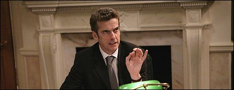 Malcolm Tucker on The Thick of It