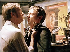 DCI Gene Hunt and DI Sam Tyler in Life on Mars