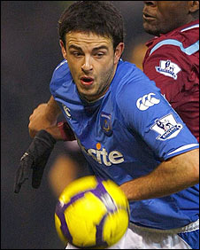 Portsmouth defender Marc Wilson
