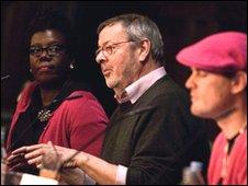 Paulette Edwards, Paul Allen and Mark Jones