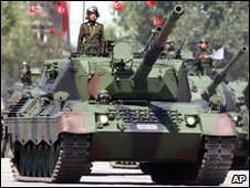 Turkish military on parade (file picture)