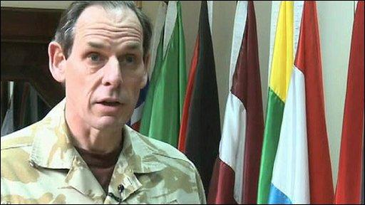 Nato's Lt Gen Nick Parker