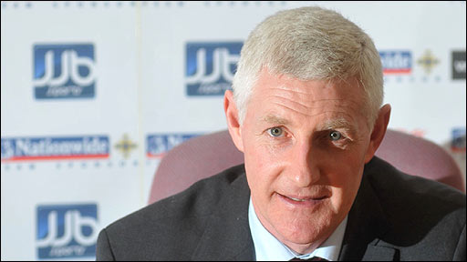 Northern Ireland manager Nigel Worthington
