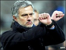 Inter Milan boss Jose Mourinho