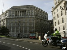 Thames House, MI5's headquarters in London