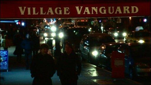 Vanguard village jazz club