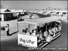 A shoplifter in Sun City