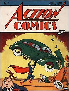 The first edition of Superman