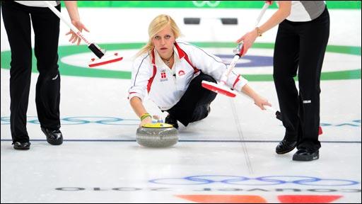 Denmark's women curlers