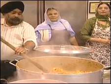 Cooking a curry