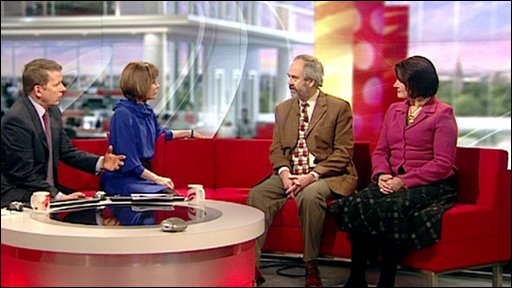 Rabbi Dr Jonathan Romain is from Accord and Katie Ivens from the Campaign for Real Education speak to BBC Breakfast