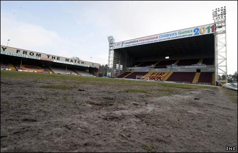 Fir Park pitch problems (2010)