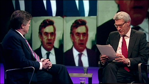 Andrew Rawnsley and Jeremy Paxman