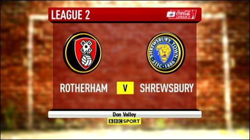 Highlights - Rotherham 1-1 Shrewsbury