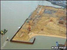 Felixstowe South port extension