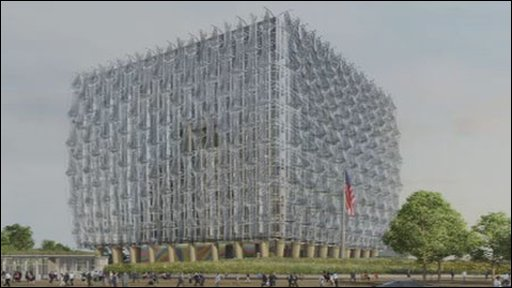 Design for the new US Embassy in London