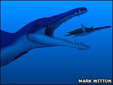 Pliosaur (Mark Witton)