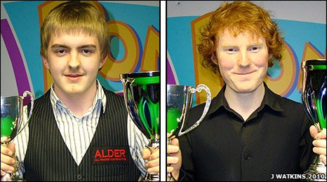 Ross Muir and Anthony McGill