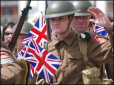 2009 re-enactment of Jersey's liberation
