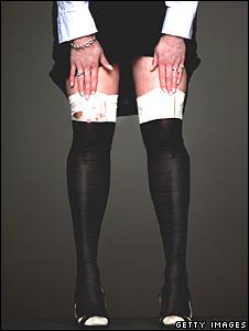 Queen Victoria's silk stockings