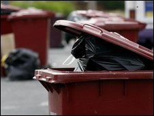 Refuse awaiting collection