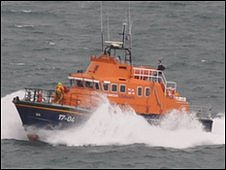 Spirit of Guernsey lifeboat
