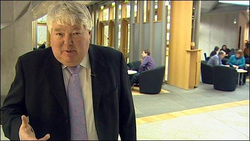 The BBC's Brian Taylor