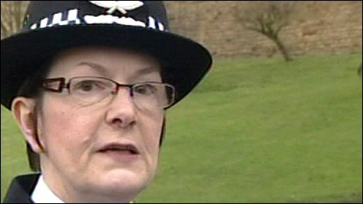 Nottingham's Chief Constable Julia Hodson