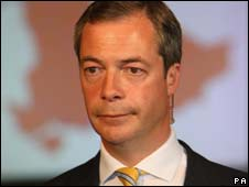 Former UKIP leader Nigel Farage