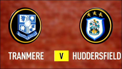 Tranmere 0-2 Huddersfield