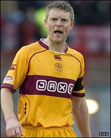 Motherwell defender Stephen Craigan