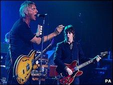 Paul Weller and Gem Archer