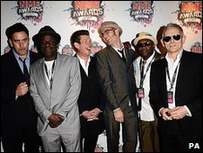 The reunited Specials at NME Awards