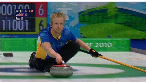 Swedish skipper Niklas Edin